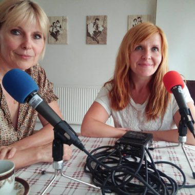 Marie Zelená a moderátorka pořadu APETÝT Jarka Vykoupilová