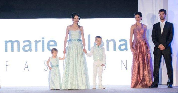 Večerní šaty a modely pro děti Marie Zelena Fashion