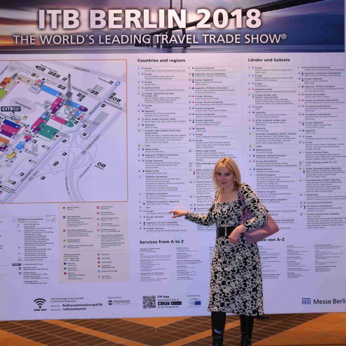 Marie Zelená - veletrh ITB Berlín