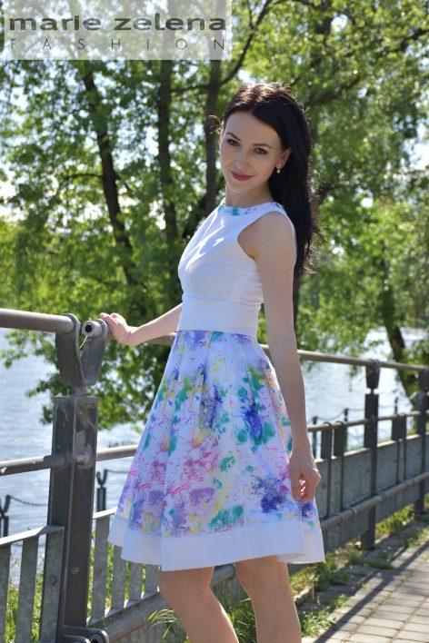Jarní šaty Marie Zelena Fashion