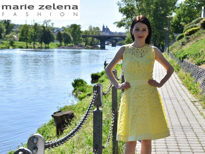 Krajkové šaty Marie Zelena Fashion