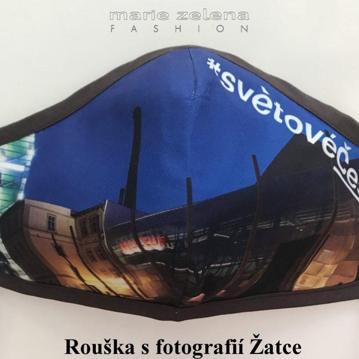 Rouška pro pana ministra Miroslava Tomana - Marie Zelena Fahion a CzechTourism