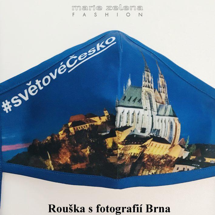 Rouška pro pana  ministra Roberta Plagu- Marie Zelena Fashion a CzechTourism