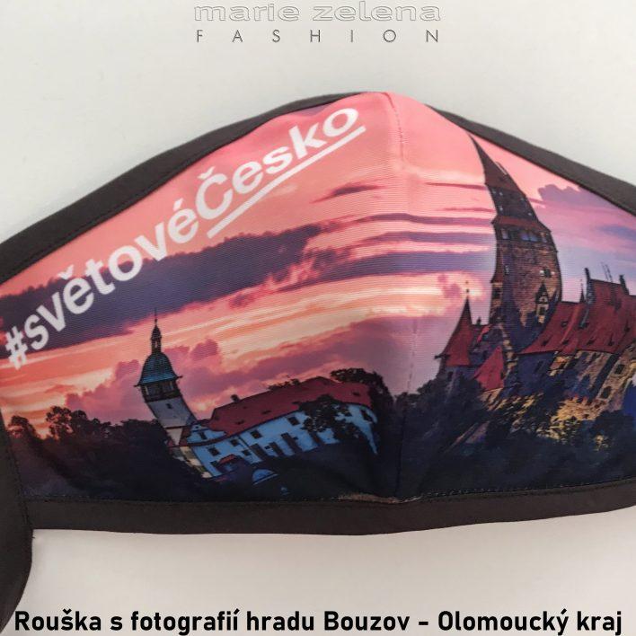Rouška s fotografií Liberecký kraj - Marie Zelena Fashion a CzechTourism