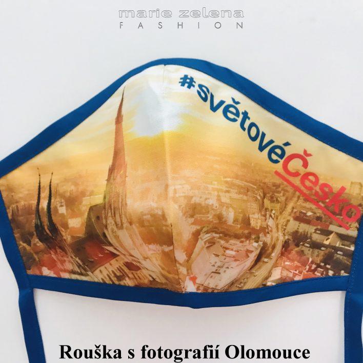 Rouška pro pana ministra Lubomíra Metnara - Marie Zelena Fahion a CzechTourism