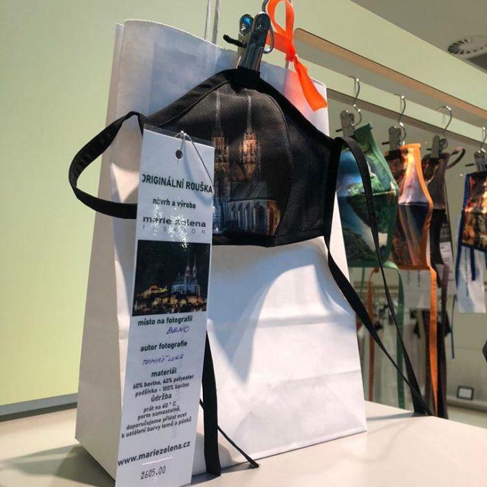 Originální roušky Marie Zelena Fashion v Premium Outlet Prague Airport
