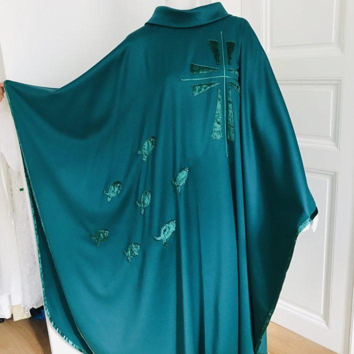 Kněžský zelený ornát - Marie Zelena Fashion