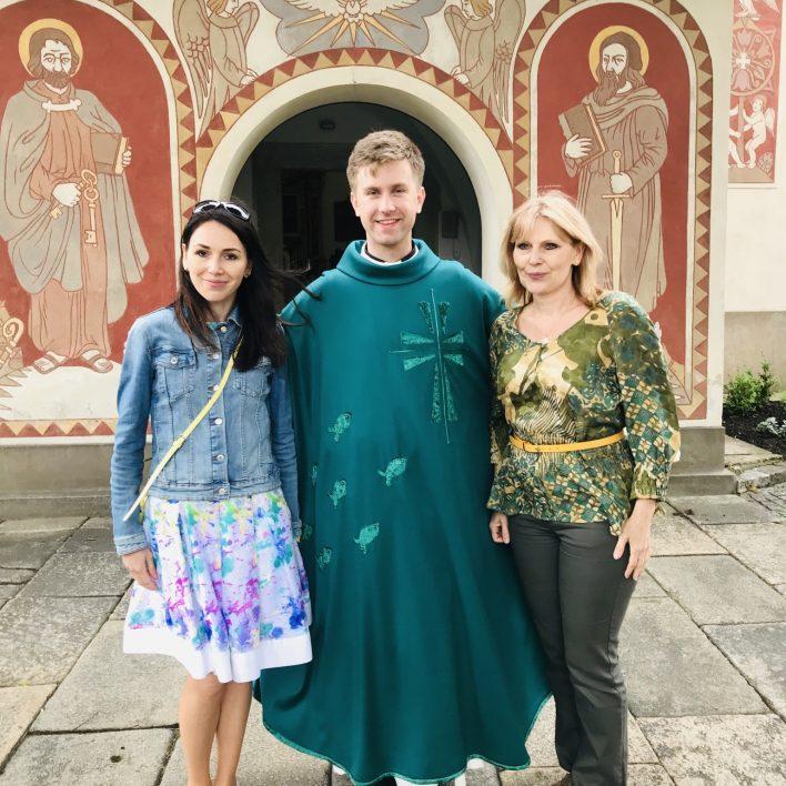 P. Vojtěch Libra, Marie Zelená a Martina Hrnčířová